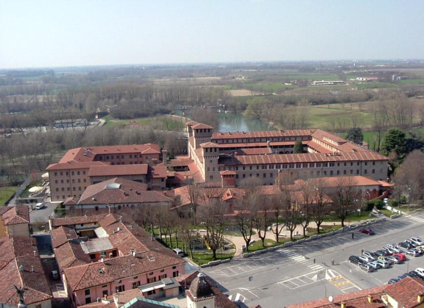 Veduta dall'alto dell'Istituto